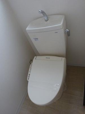 清潔感溢れるトイレも気になるポイント
