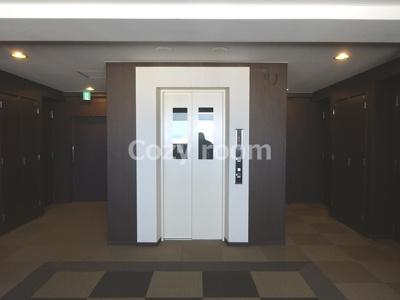 各フロアのエレベーターです。