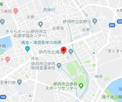 【地図】サニーハイツ