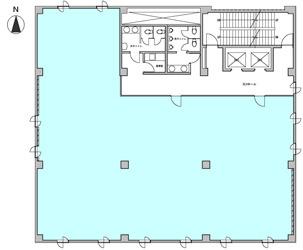 【区画図】南森町パークビル