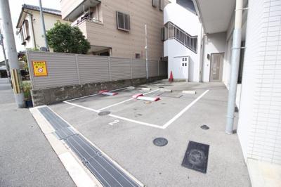 【駐車場】クローバー・ソレイユ南田辺