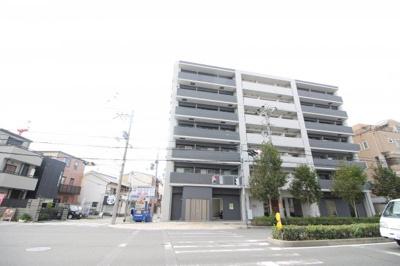 クローバー・ソレイユ南田辺 鉄筋コンクリート造 7階建
