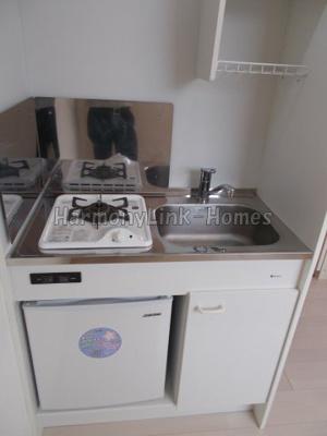 K1新宿のお料理しやすいキッチンです