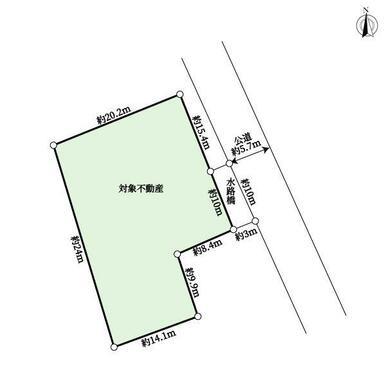 【区画図】苦楽園一番町売り土地
