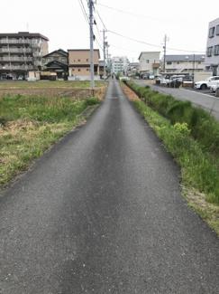 【前面道路含む現地写真】50044 岐阜市須賀土地