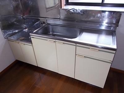 【キッチン】グリーンハイツ