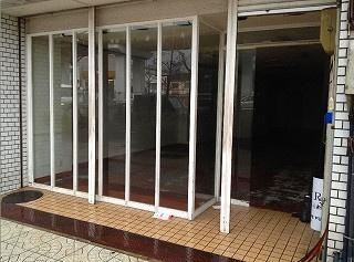 【外観】1階店舗 スケルトン 港晴 朝潮橋駅