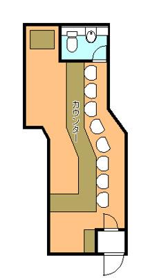 【外観】1階店舗 居抜き店舗 港晴 朝潮橋駅