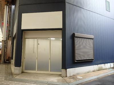 【外観】1階店舗 商店街角地 八幡屋 朝潮橋駅