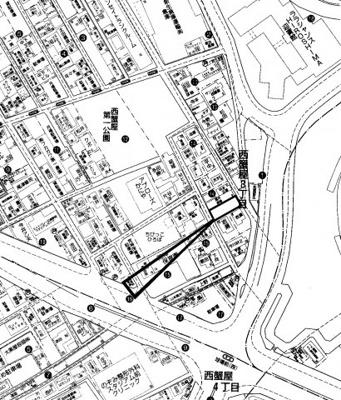 【地図】広島市南区西蟹屋3丁目
