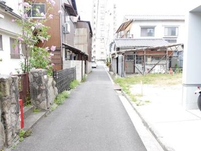 【前面道路含む現地写真】広島市南区西蟹屋3丁目