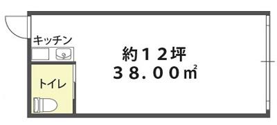 【外観】1階店舗 飲食不可 東中浜 緑橋駅