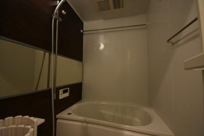 【浴室】リノベーション入ったかっこいいお部屋 レジディア六本木檜町公園
