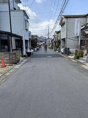 【前面道路含む現地写真】京都市伏見区醍醐南西裏町