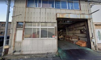 【外観】堺区南島町倉庫! 約100坪超え!2階建!