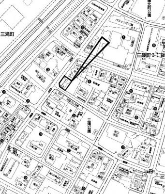 【地図】西区三滝町 収益物件