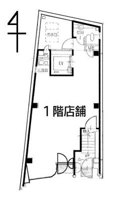 【外観】1階店舗 スケルトン 都島本通 都島駅