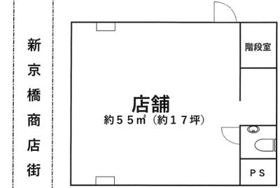 【外観】商店街 美容系 東野田町 京橋駅