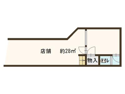 【外観】1階店舗 商店街 東野田町 京橋駅