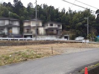 【前面道路含む現地写真】野洲市大篠原 売土地