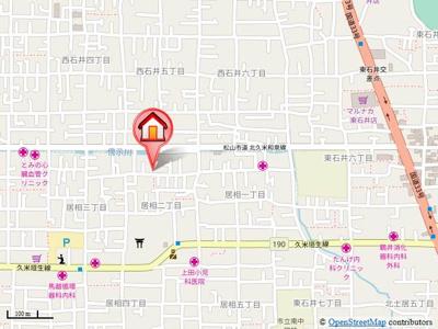 【地図】ブライムトライアングル・