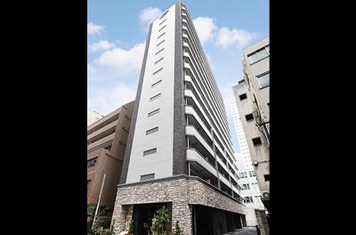 【外観】心斎橋徒歩圏内の都心型マンション