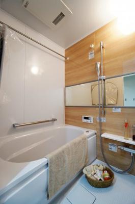 【浴室】うらわイーストシティかつら街4号棟