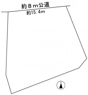 【区画図】54723 岐阜市柳津町宮東土地