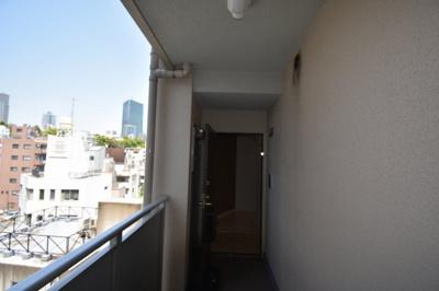 6階の角部屋です。