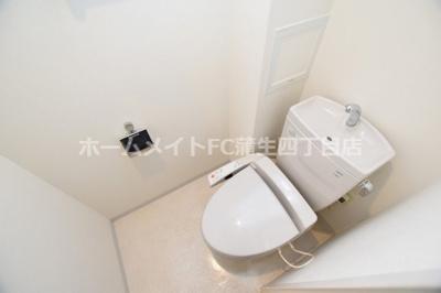 【トイレ】ルナコートアオイ