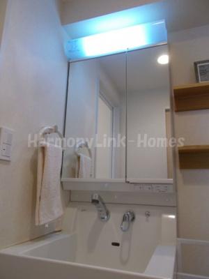 シティコート桜丘の独立洗面台あり、毎朝おしゃれに忙しい女性の方におすすめです