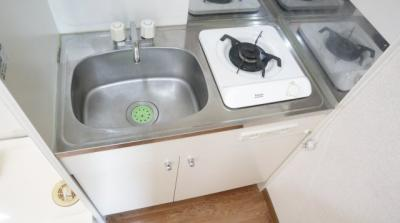 【キッチン】サマックスオザワハイツ
