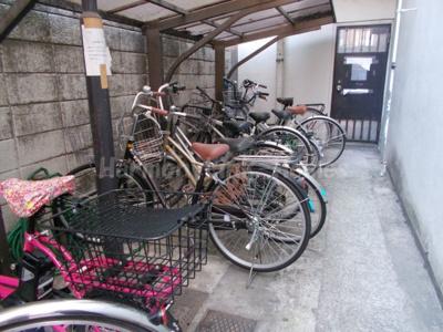 サンモール道玄坂の駐輪スペース☆