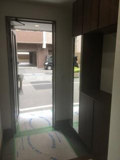 【玄関】松山市 御宝町 新築建売住宅 34.76坪