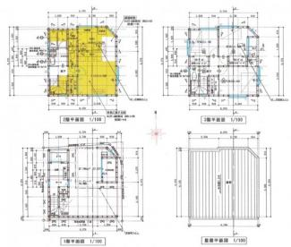 【間取り】松山市 御宝町 新築建売住宅 34.76坪