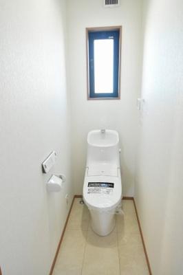2階トイレも1階と同じ仕様です。