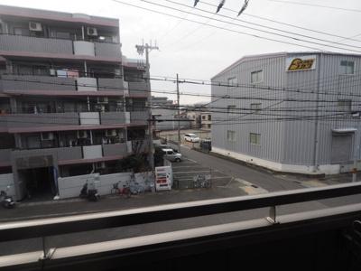 【バルコニー】パトリア芦屋