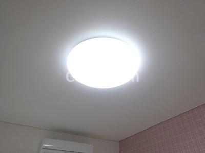 照明器具付きです
