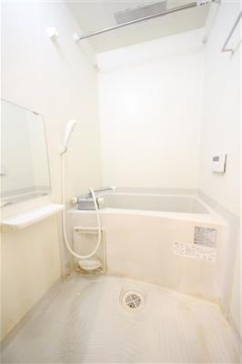 【浴室】レオンコンフォート谷町六丁目