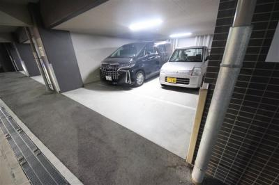 【駐車場】エステムコート難波Ⅳパークグレイス