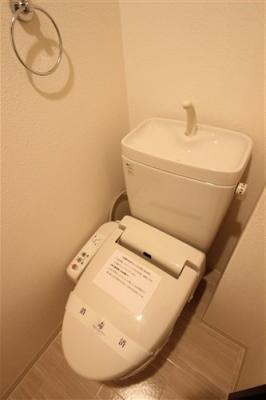 【トイレ】アスヴェル江戸堀