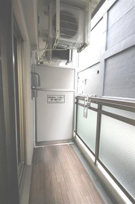 【バルコニー】エステムコート難波WESTSIDEⅢドームシティ