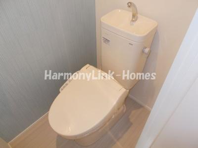 ハーモニーテラス代田橋のトイレ