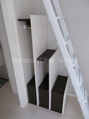 モアナの収納付き梯子☆