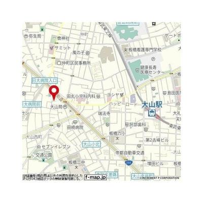 【地図】フィールドエッジ大山