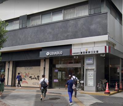 蒲田駅東口交番