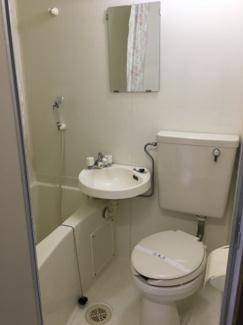 【トイレ】コーポひまわりB棟
