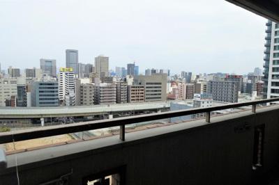 バルコニーからの眺望 最上階で眺望良好。開放感たっぷりです。