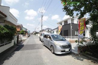 前面道路6Mで駐車もしやすいですね!