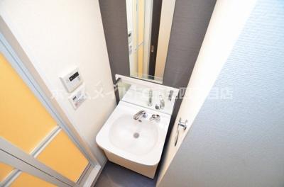 【トイレ】プレサンス大阪城公園ファーストシート